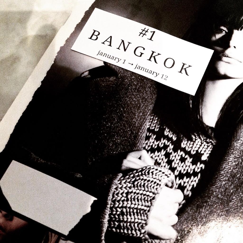'Bangkok' January 2015. A zine by DK