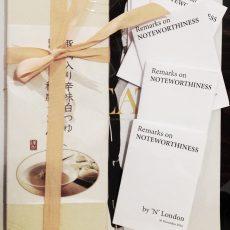 'Remarks on NOTEWORTHINESS'